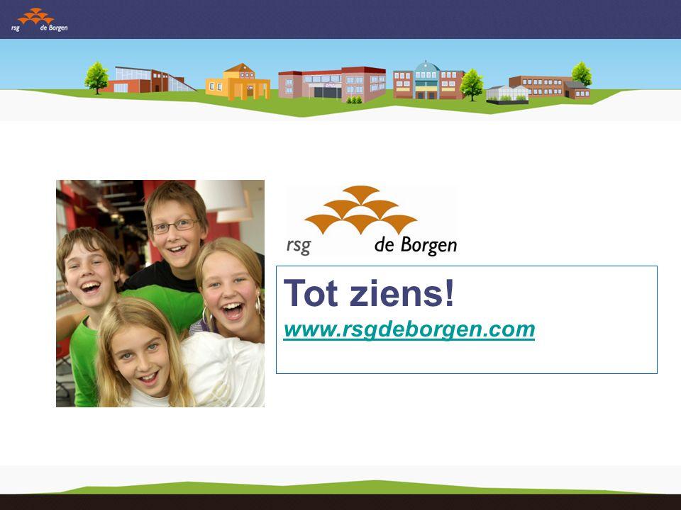 Tot ziens! www.rsgdeborgen.com