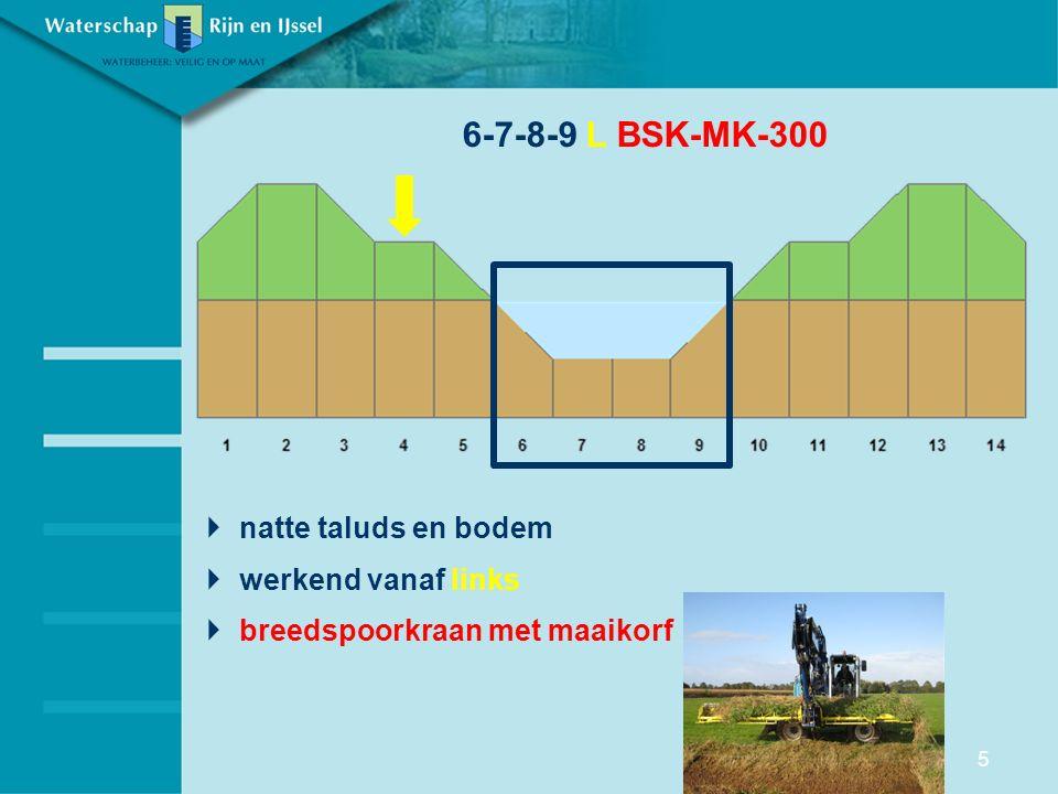  natte taluds en bodem  werkend vanaf links  breedspoorkraan met maaikorf 6-7-8-9 L BSK-MK-300 5