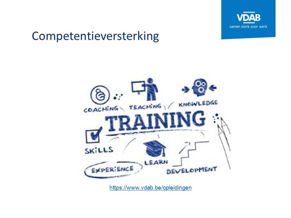 Competentieversterking https://www.vdab.be/opleidingen