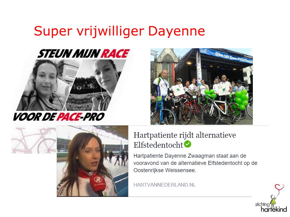 Super vrijwilliger Dayenne