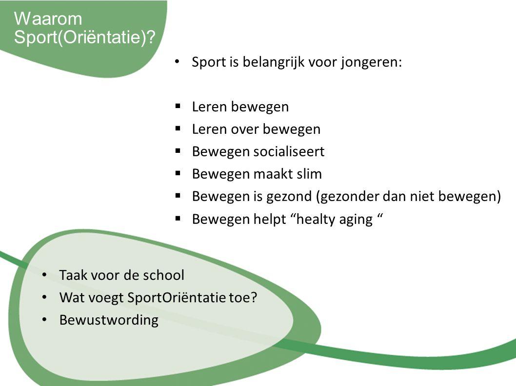 Waarom Sport(Oriëntatie).