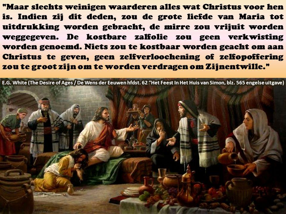 Maar slechts weinigen waarderen alles wat Christus voor hen is.