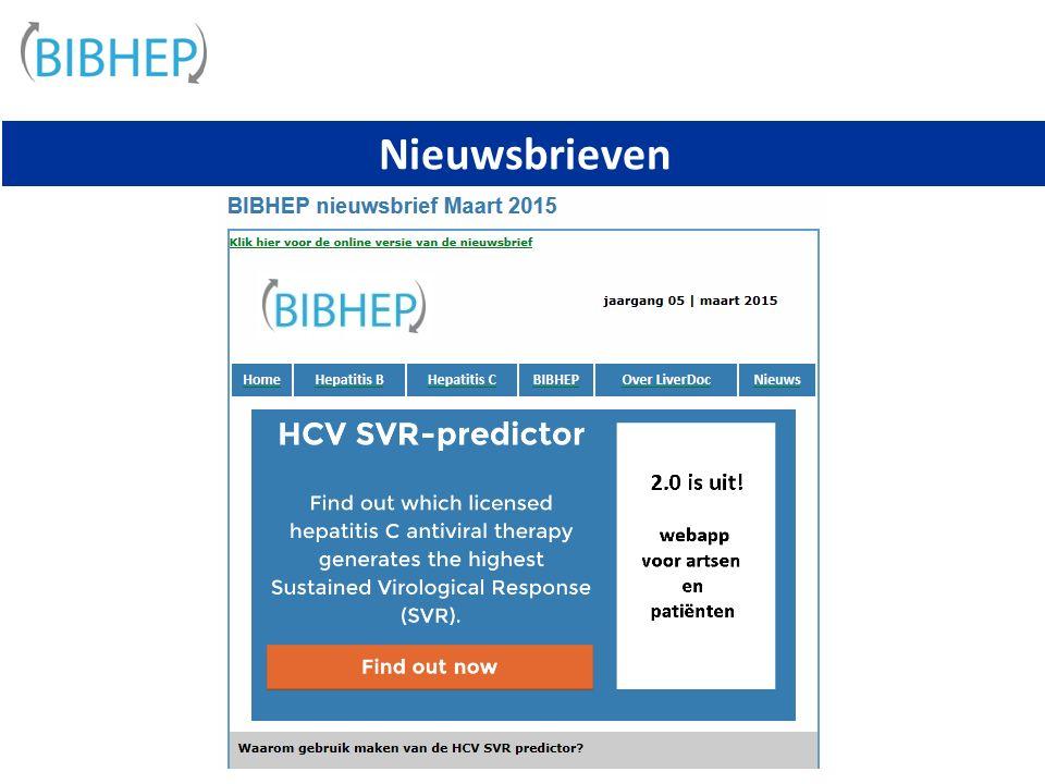 Nieuwsbrieven zie : www.liverdoc.nl/bibhep/www.liverdoc.nl/bibhep/