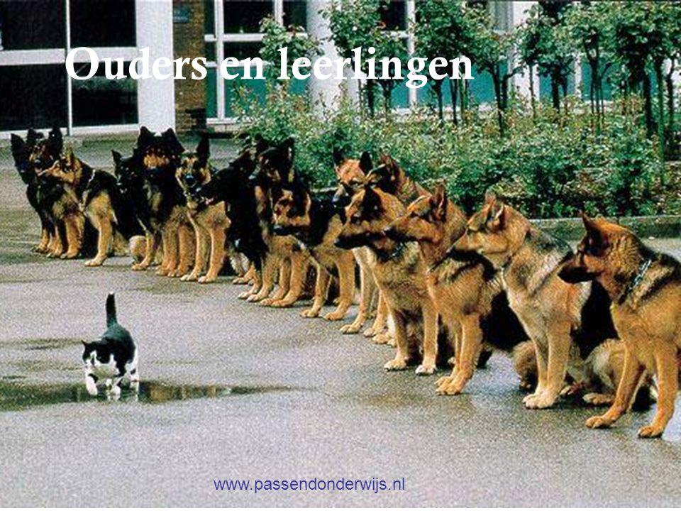 Oudersin het onderwijs Ouders en leerlingen www.passendonderwijs.nl