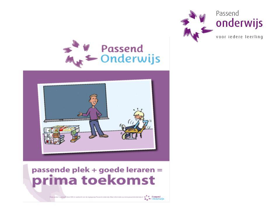 Alles draait om de leerkracht en het team www.passendonderwijs.nl