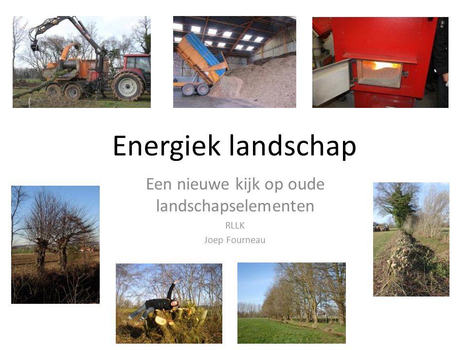 Energiek landschap Een nieuwe kijk op oude landschapselementen RLLK Joep Fourneau