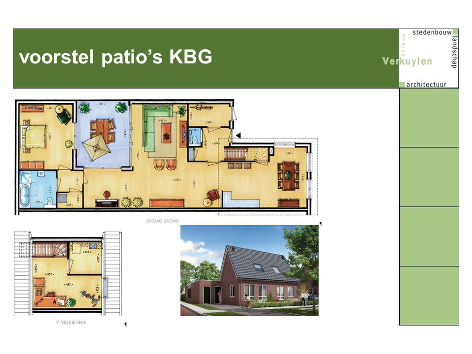 voorstel patio's KBG
