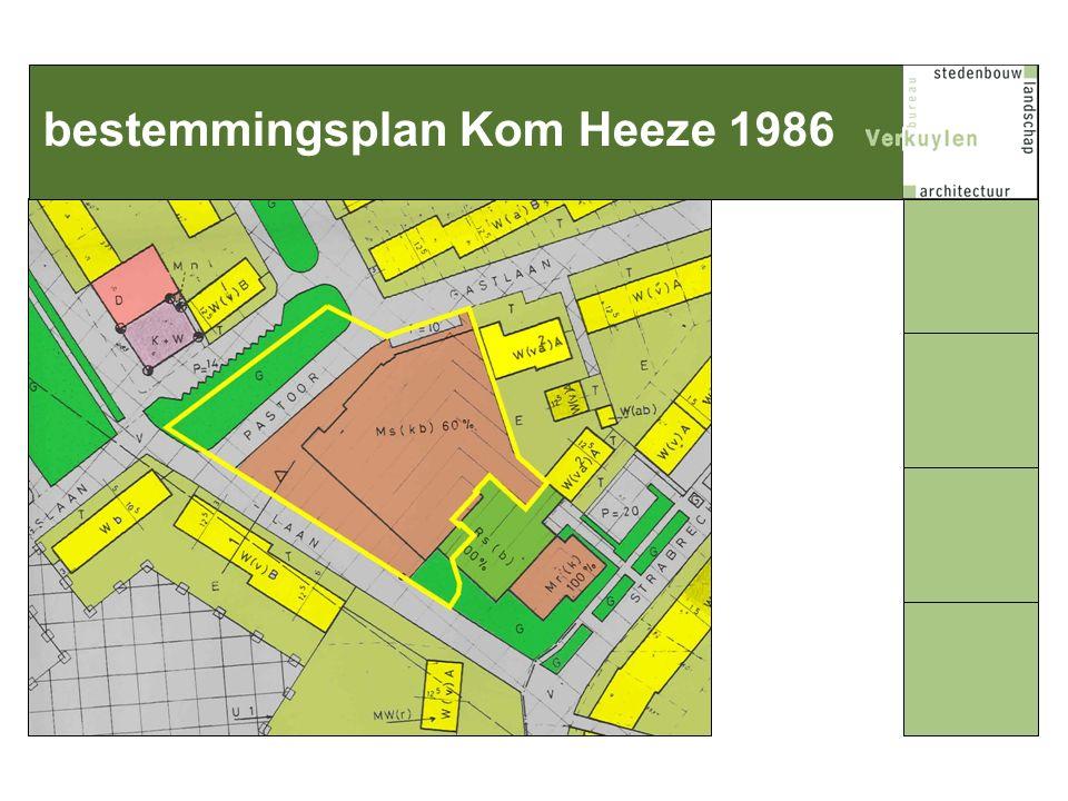 bestemmingsplan Kom Heeze 1986