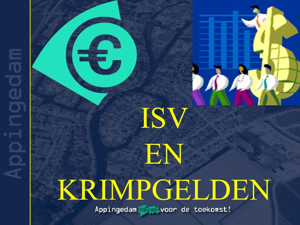 ISV EN KRIMPGELDEN