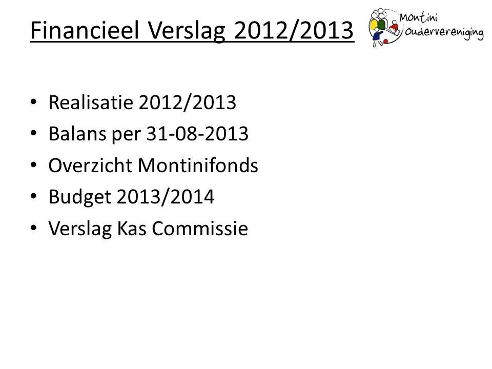 Realisatie 2012/2013