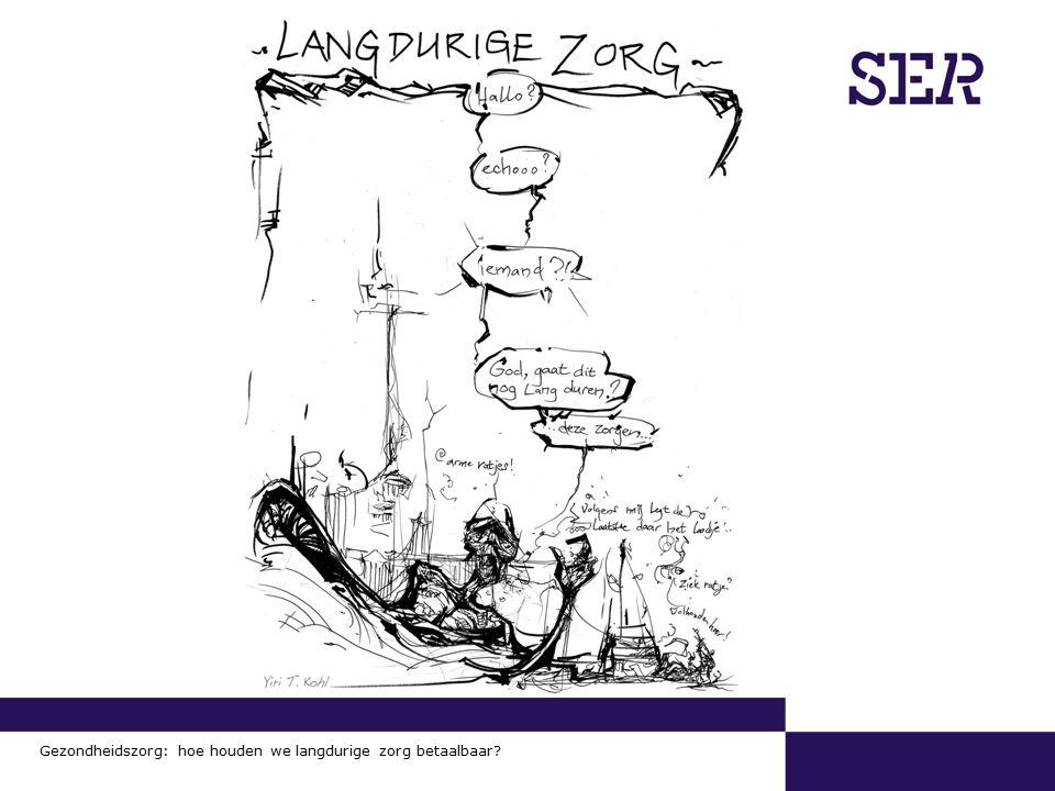 00-00-2009 | pagina 15/x | Afdeling Communicatie Gezondheidszorg: hoe houden we langdurige zorg betaalbaar?