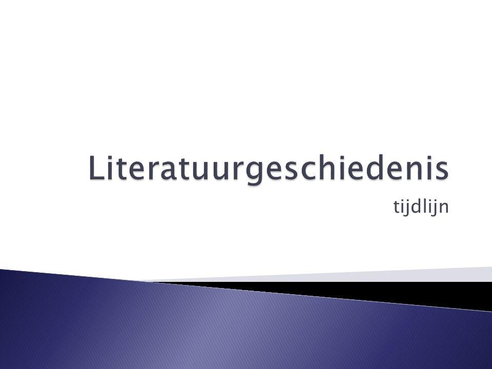 Samenleving:  Theocentrisch, gericht op hiernamaals  Standenmaatschappij Literatuur:  Orale vertelcultuur  Schrijver onbelangrijk