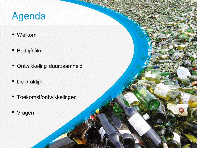 Agenda Welkom Bedrijfsfilm Ontwikkeling duurzaamheid De praktijk Toekomst/ontwikkelingen Vragen