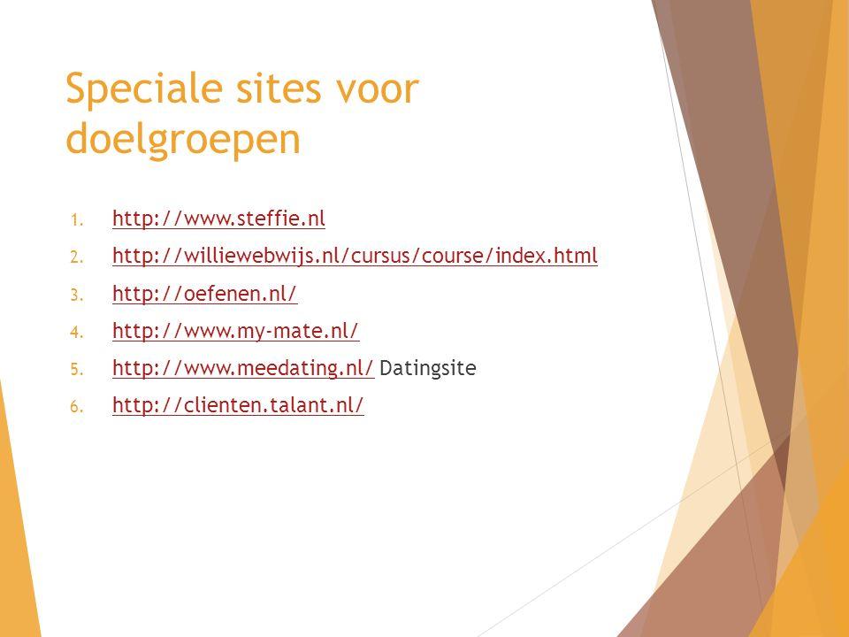 1. http://www.steffie.nl http://www.steffie.nl 2.