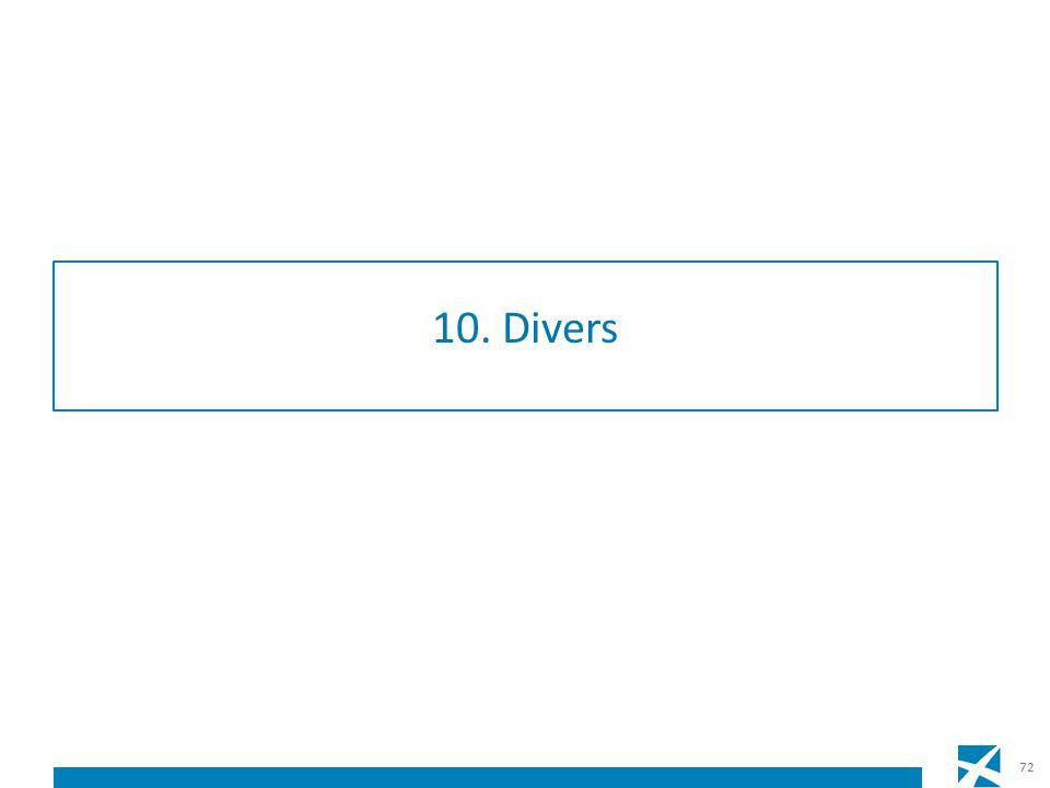 10. Divers 72