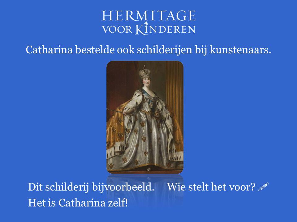 Weet je nog wat Catharina nog meer verzamelde behalve schilderijen?  Tekeningen en cameeën.