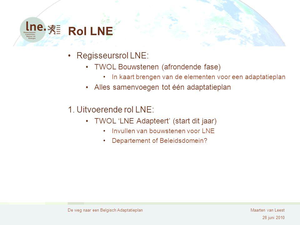 Maarten van Leest VLAAMSE OVERHEID Departement Leefmilieu, Natuur en Energie, Afdeling Milieu-, Natuur- en Energiebeleid Koning Albert II-laan 20 bus 8 1000 Brussel Tel.
