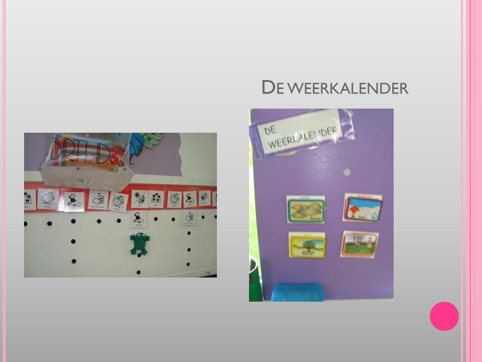 D E WEERKALENDER