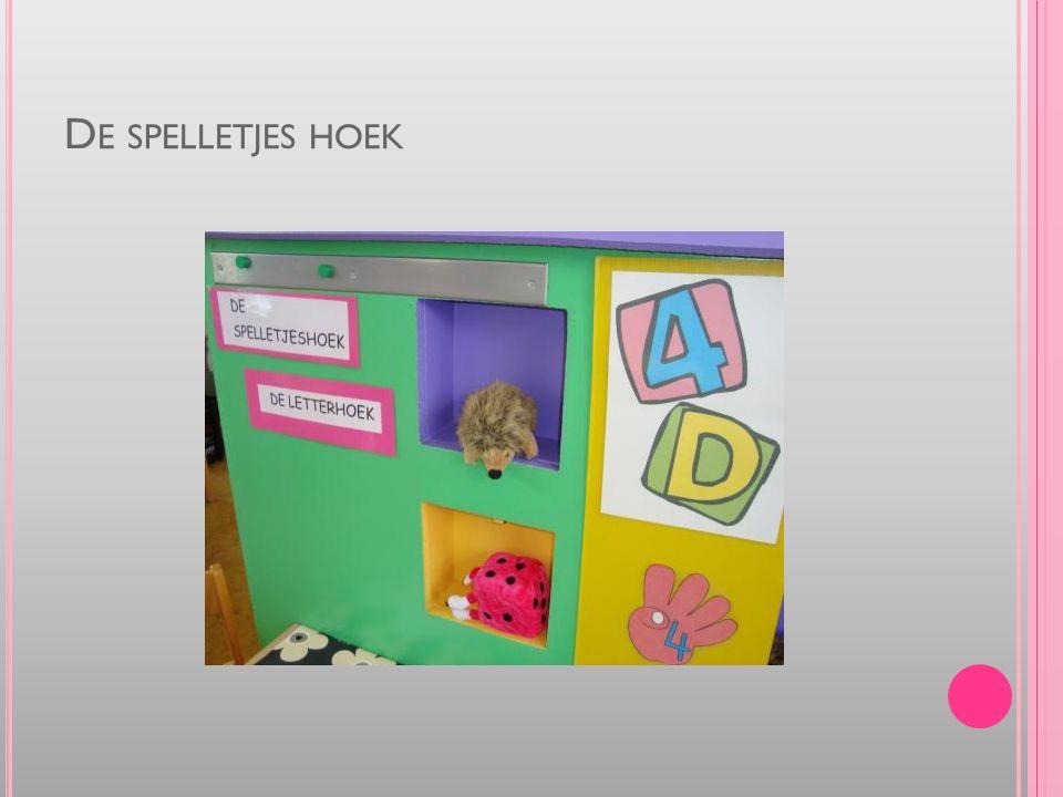 D E SPELLETJES HOEK