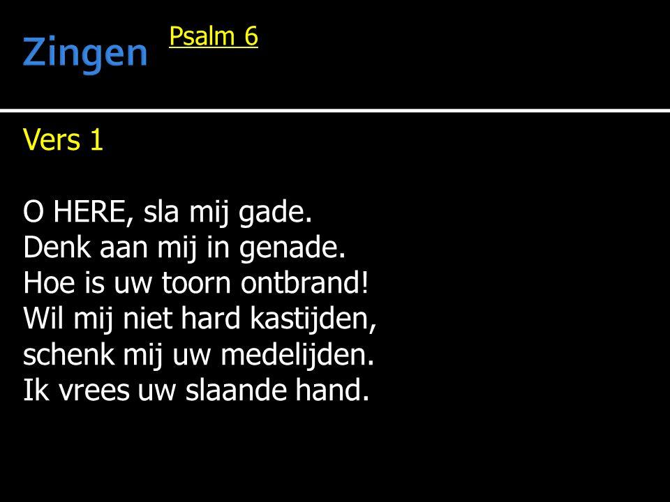 Gezang 63 Vers 3 Heer, laat uw liefde door alle ranken stromen.