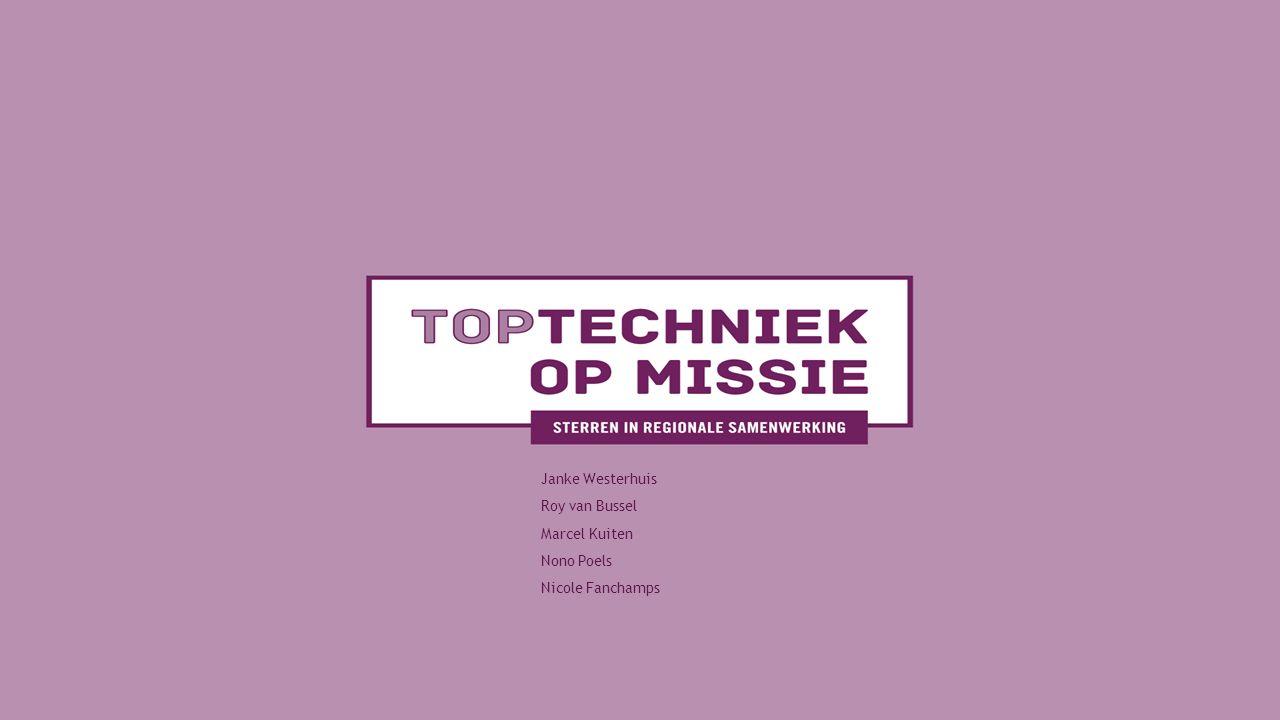 Janke Westerhuis Roy van Bussel Marcel Kuiten Nono Poels Nicole Fanchamps