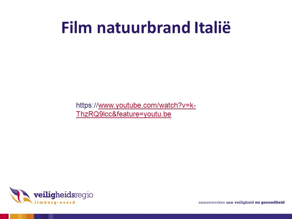 Film natuurbrand Italië https://www.youtube.com/watch?v=k- ThzRQ9lcc&feature=youtu.bewww.youtube.com/watch?v=k- ThzRQ9lcc&feature=youtu.be