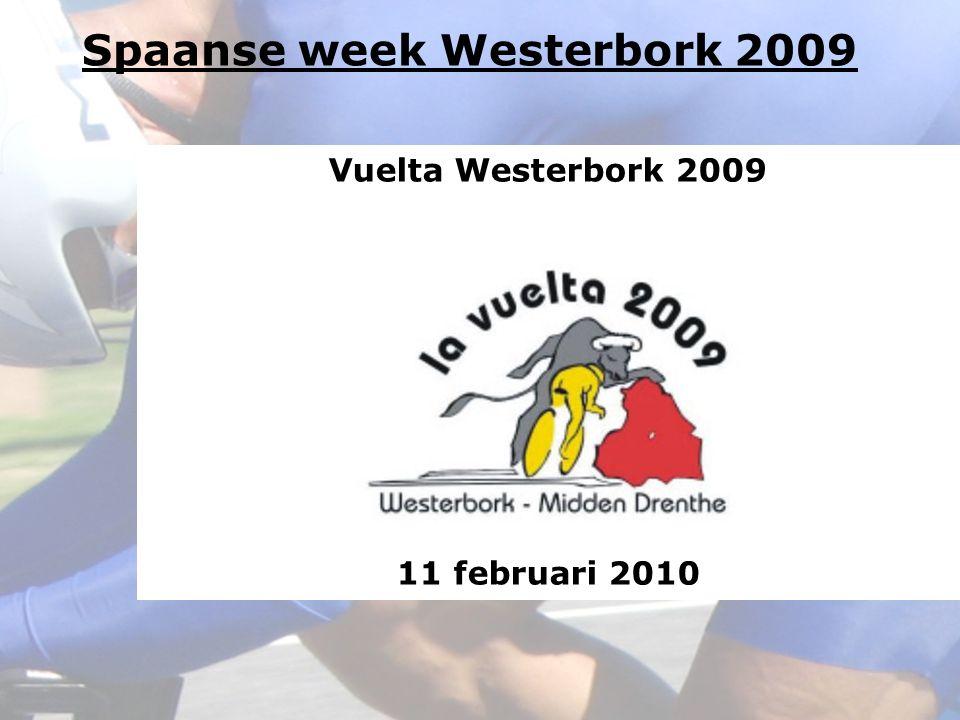 Vuelta Westerbork 2009 11 februari 2010 Spaanse week Westerbork 2009