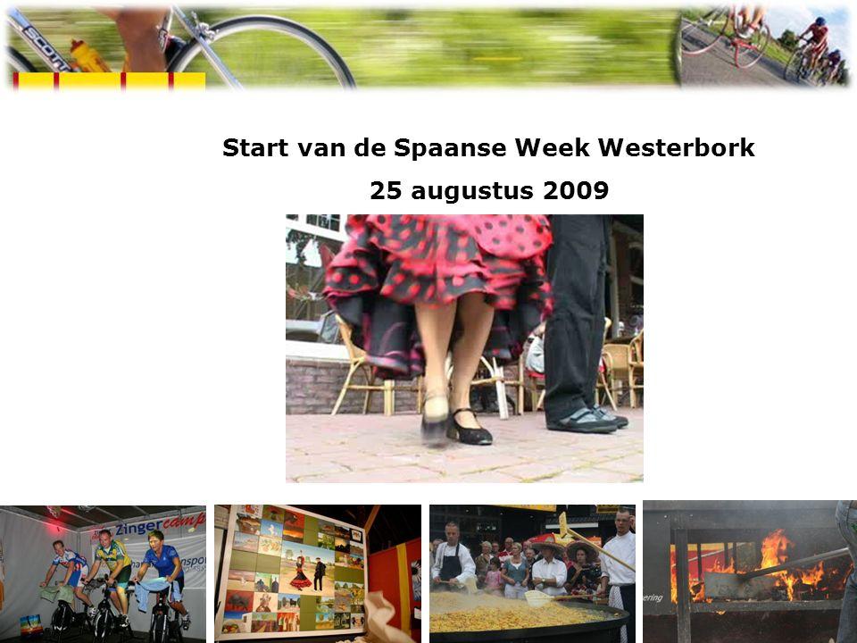 Start van de Spaanse Week Westerbork 25 augustus 2009 Spaanse week Westerbork 2009