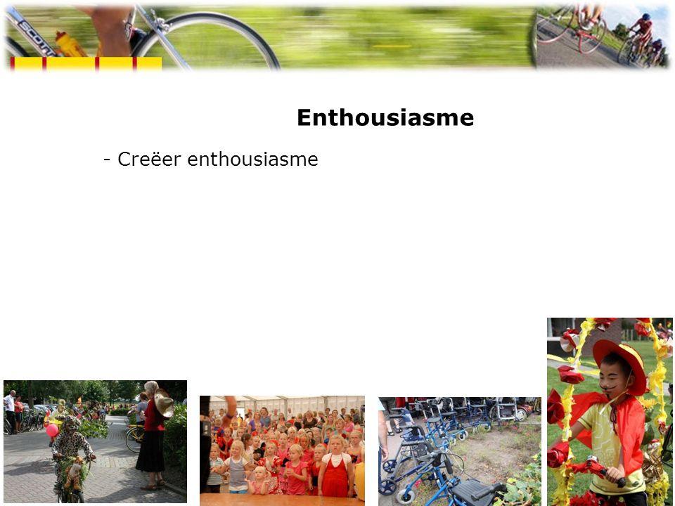 Enthousiasme - Creëer enthousiasme Spaanse week Westerbork 2009