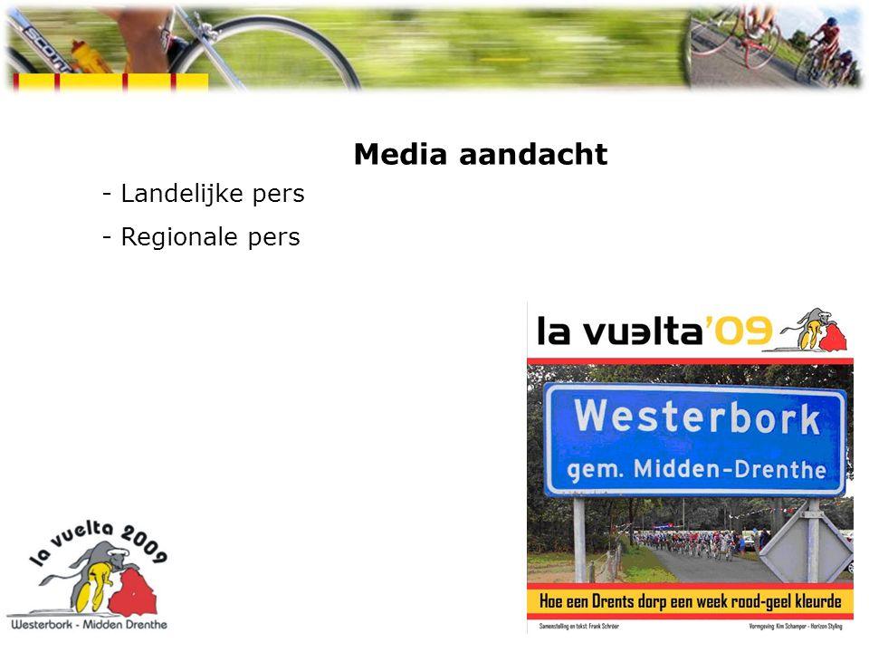 Media aandacht - Landelijke pers - Regionale pers Spaanse week Westerbork 2009