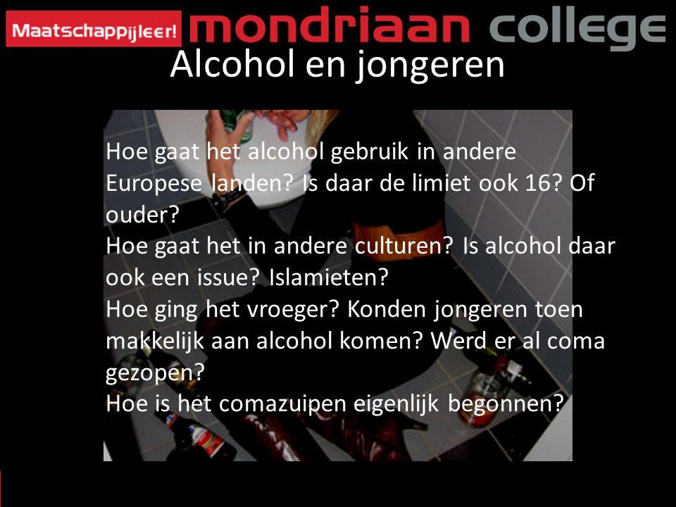 Hoe gaat het alcohol gebruik in andere Europese landen? Is daar de limiet ook 16? Of ouder? Hoe gaat het in andere culturen? Is alcohol daar ook een i