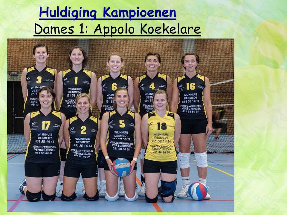 Huldiging Kampioenen Dames 1: Appolo Koekelare