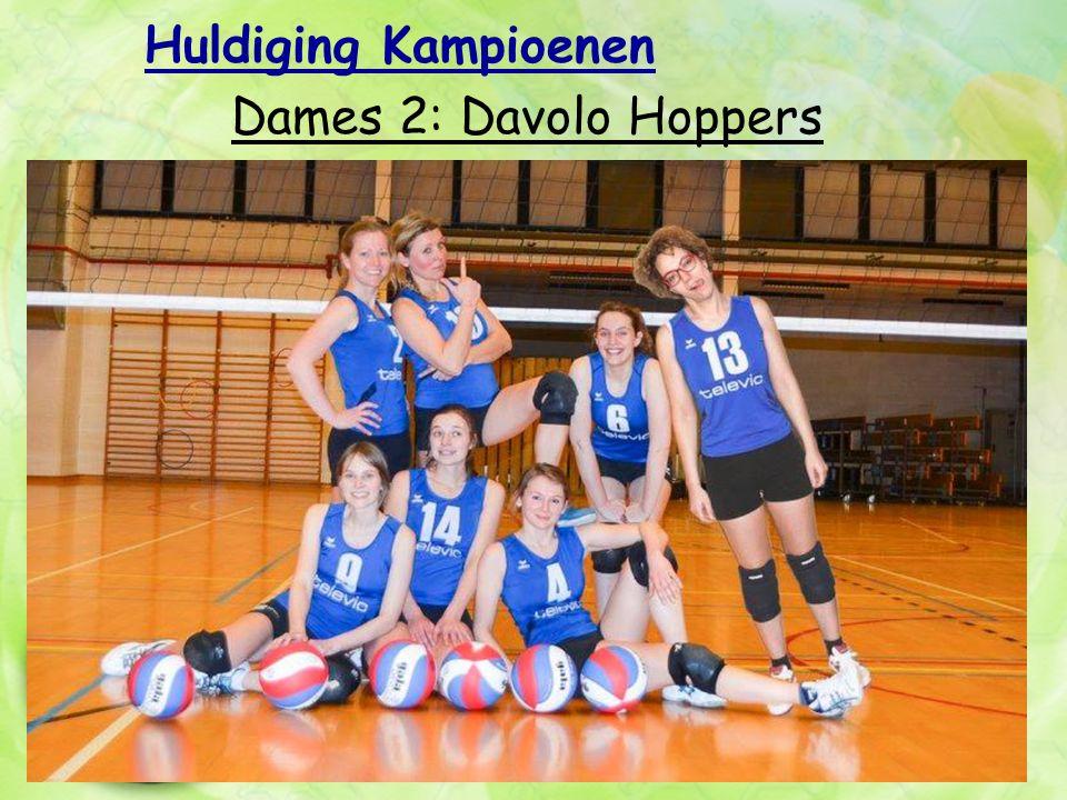 Huldiging Kampioenen Dames 2: Davolo Hoppers
