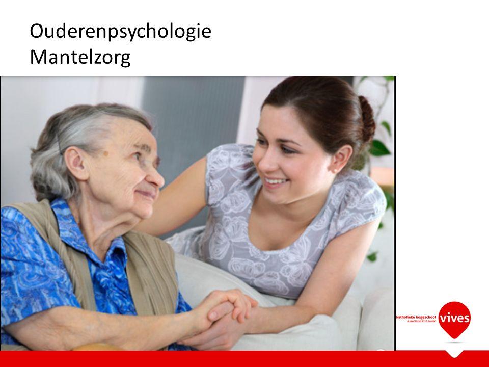 Ouderenpsychologie Mantelzorg