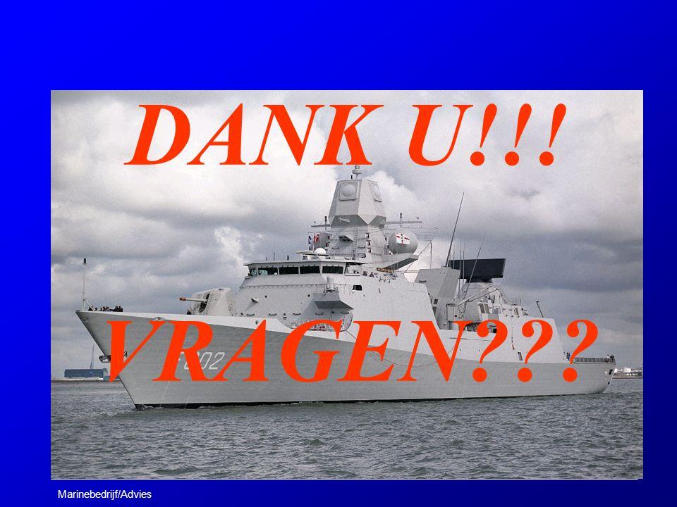 Marinebedrijf/Advies DANK U!!! VRAGEN???