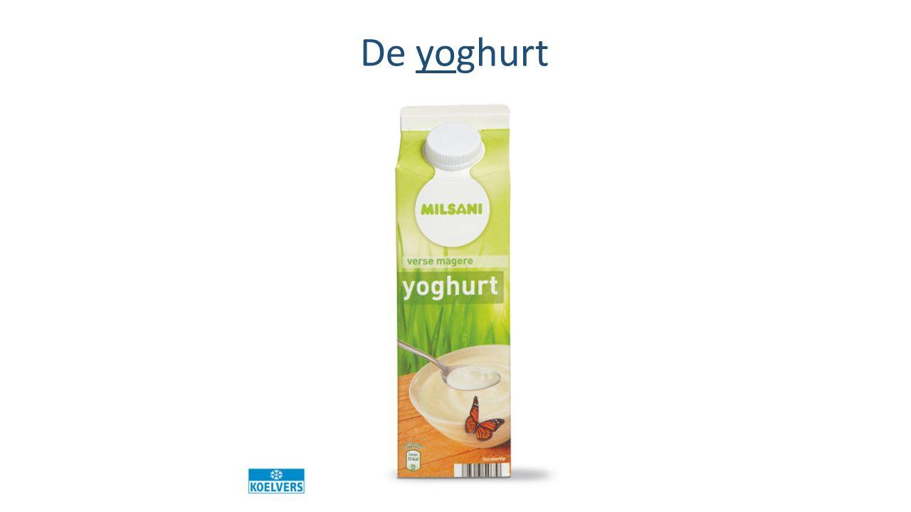 De yoghurt