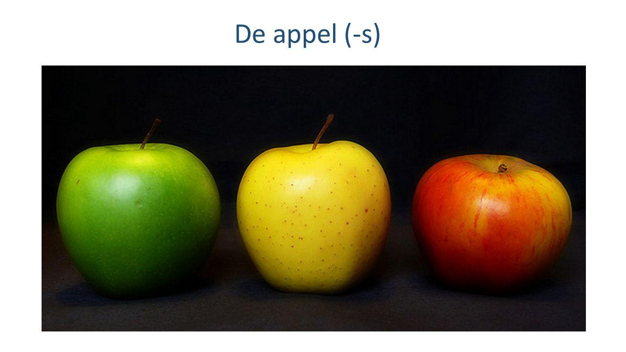De appel (-s)