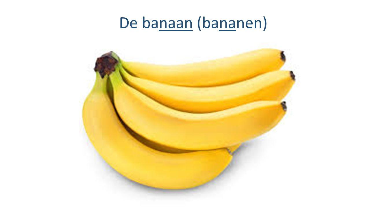 De banaan (bananen)