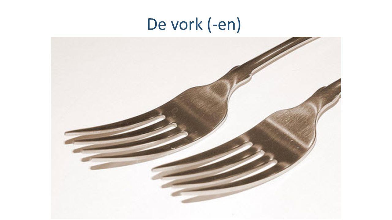 De vork (-en)