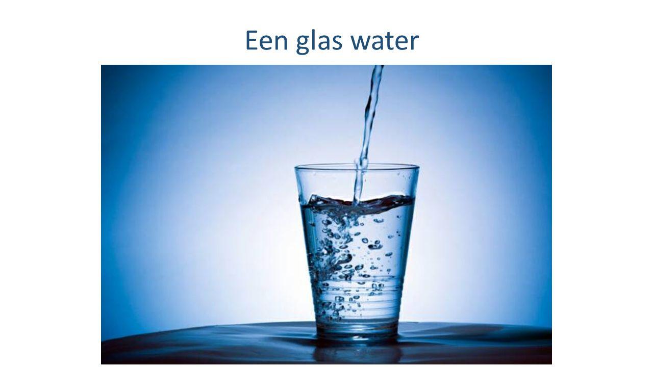 Een glas water