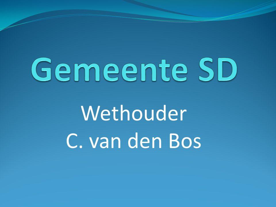 Wethouder C. van den Bos
