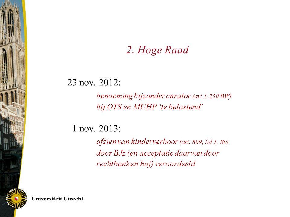 2. Hoge Raad 23 nov.