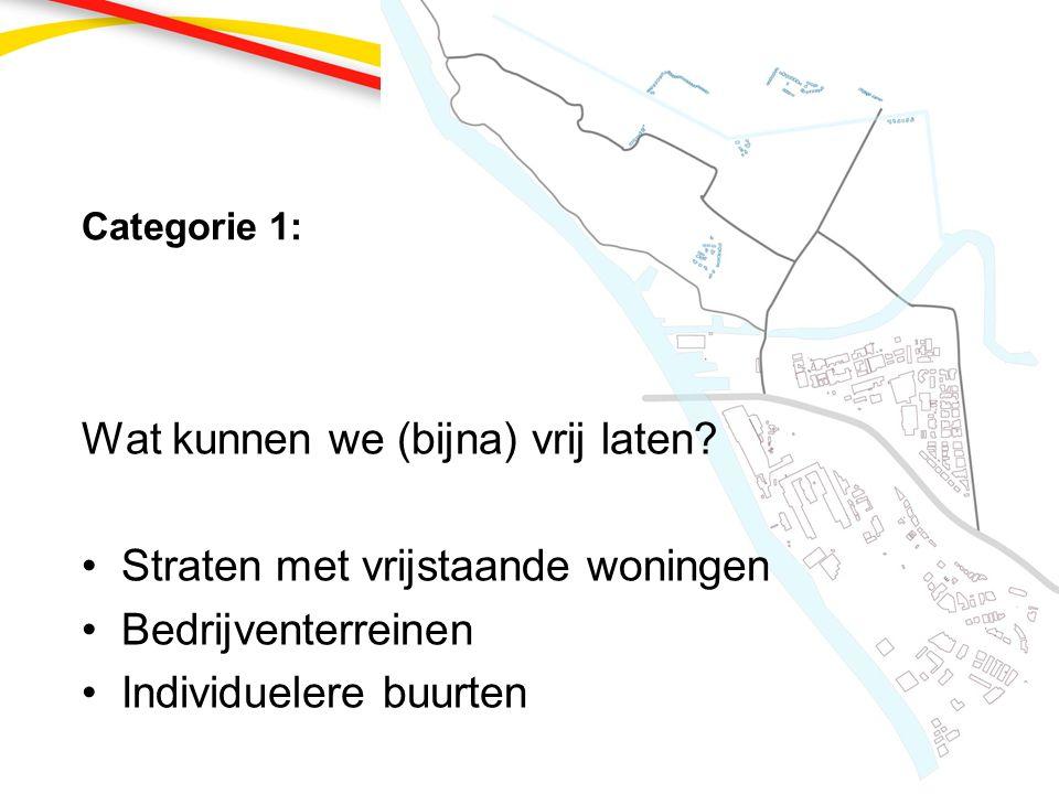 Categorie 3 op kaart