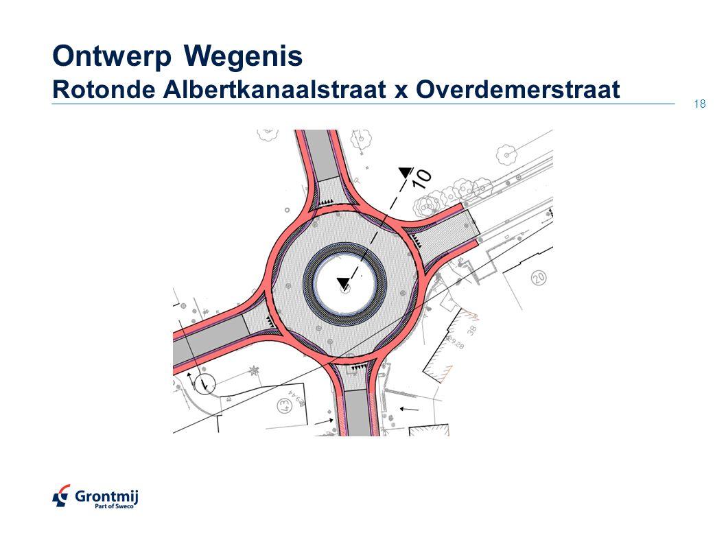 18 OntwerpWegenis Rotonde Albertkanaalstraat x Overdemerstraat
