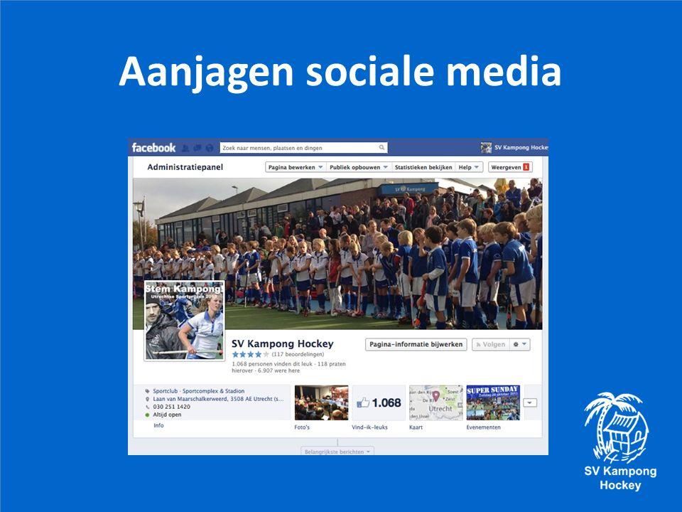 Aanjagen sociale media