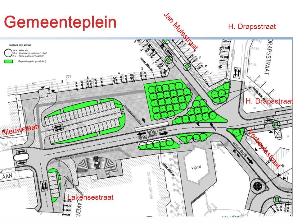 12 Gemeenteplein Jan Mulsstraat H. Drapsstraat Verbeytsstraat Nieuwelaan Lakensestraat