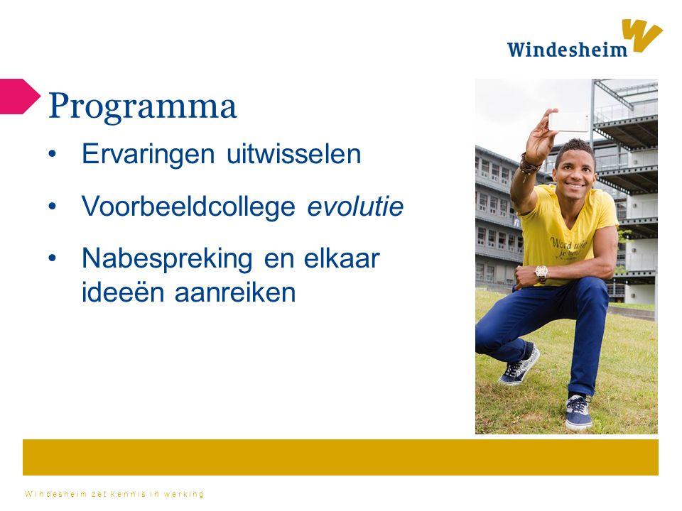 Windesheim zet kennis in werking https://prowise.com/presenter/start
