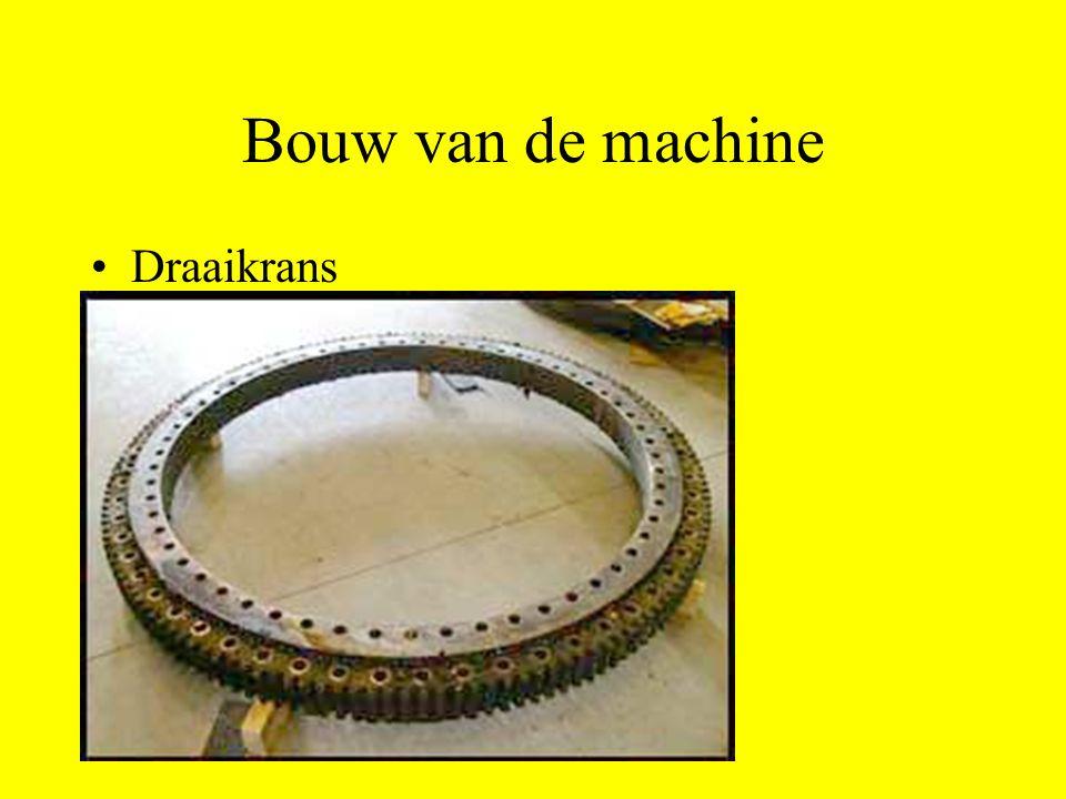 Bouw van de machine Draaikrans