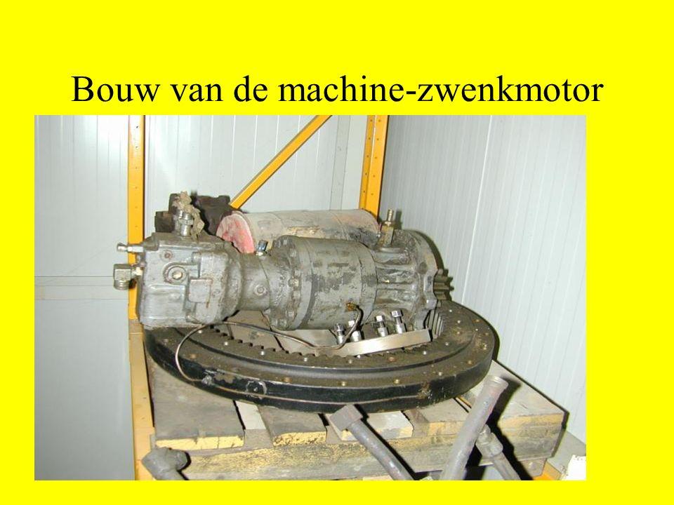 Bouw van de machine-zwenkmotor