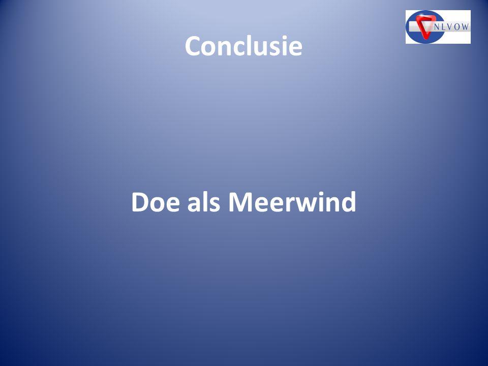 Conclusie Doe als Meerwind
